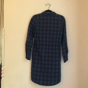The Limited Dresses - NWT The Limited Plaid Shirt Dress